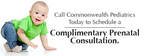 Call Commonwealth Pediatrics to schedule an appointment today!